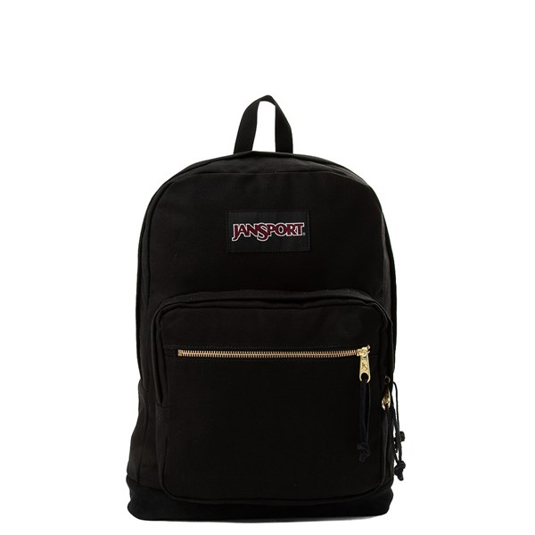 Main view of JanSport Right Pack Expressions Backpack - Black / Gold