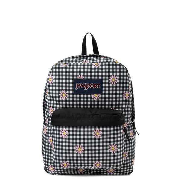 JanSport Superbreak Gingham Daisy Backpack