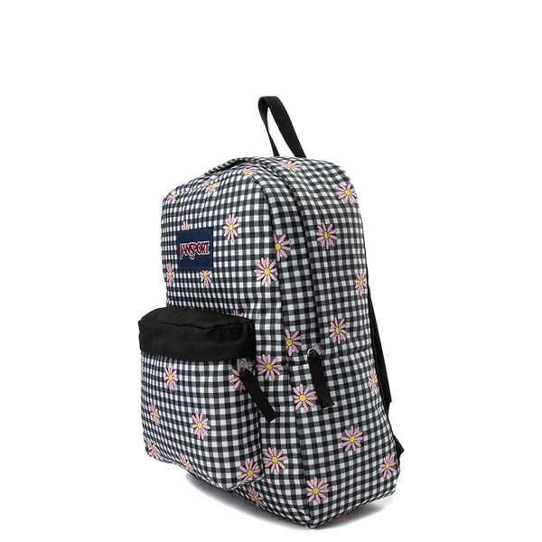 alternate view JanSport Superbreak Gingham Daisy BackpackALT2