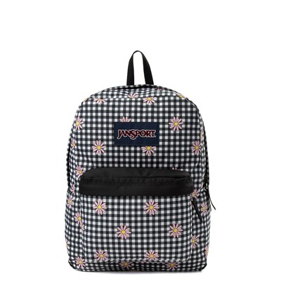 Main view of JanSport Superbreak Gingham Daisy Backpack