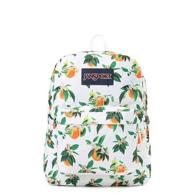 Main view of JanSport Superbreak Orange Blossom Backpack