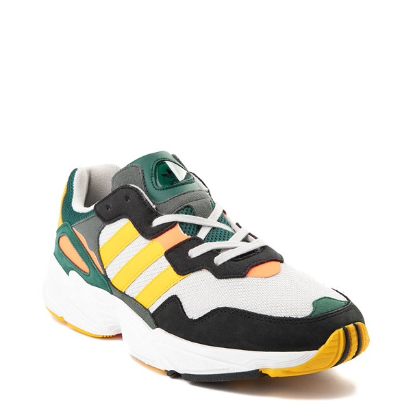 alternate view Mens adidas Yung 96 Athletic Shoe - Green / Gold / Solar RedALT1