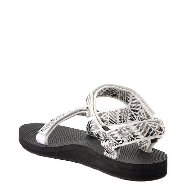 alternate view Womens Teva Original Universal Sandal - White / GrayALT1