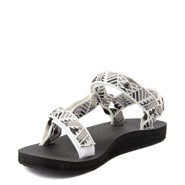 alternate view Womens Teva Original Universal Sandal - White / GrayALT2