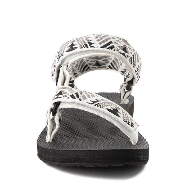 alternate view Womens Teva Original Universal Sandal - White / GrayALT4