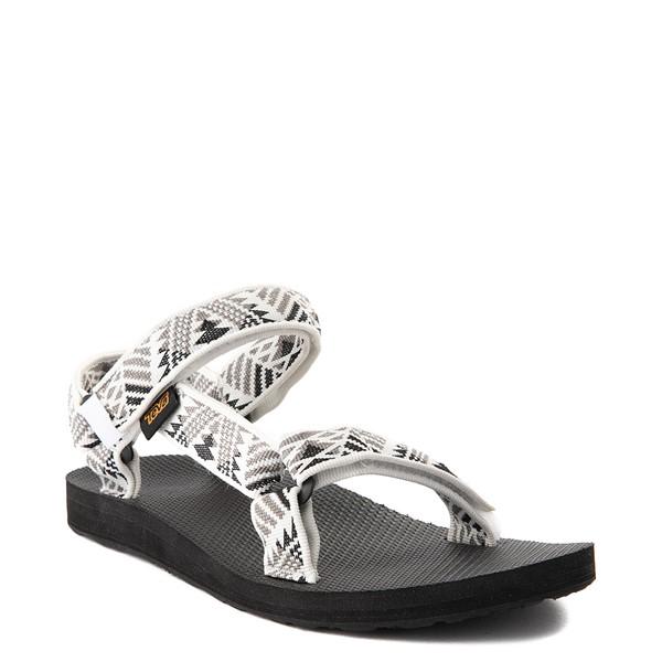 alternate view Womens Teva Original Universal Sandal - White / GrayALT5