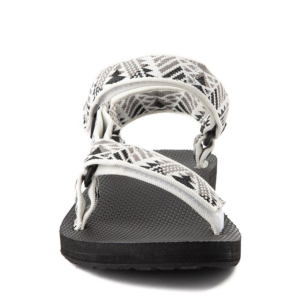 alternate view Womens Teva Original Universal Sandal - White / GrayALT4
