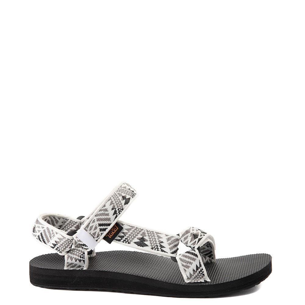 Womens Teva Original Universal Sandal - White / Gray