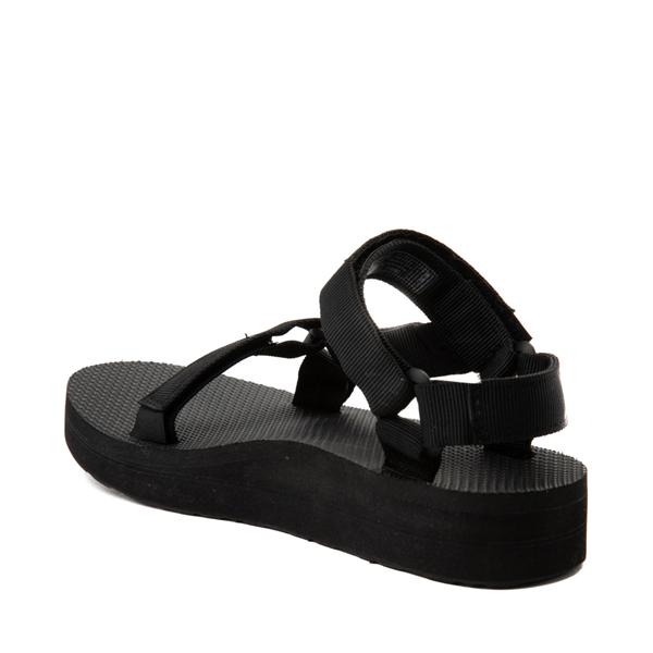 alternate view Womens Teva Midform Universal Sandal - BlackALT1