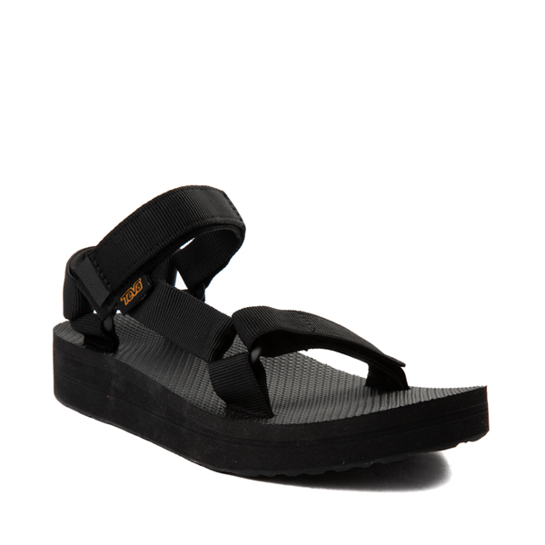 alternate view Womens Teva Midform Universal Sandal - BlackALT5