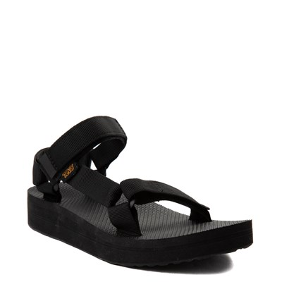 Alternate view of Womens Teva Midform Universal Sandal - Black