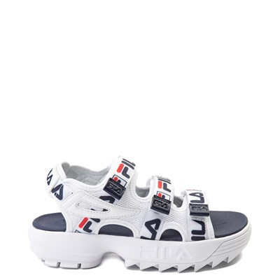 Main view of Youth/Tween Fila Disruptor Sandal