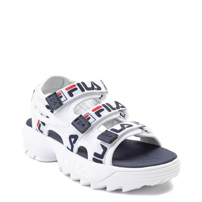 Alternate view of Youth/Tween Fila Disruptor Sandal