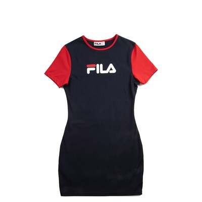 Main view of Womens Fila Roslyn Fitted Dress