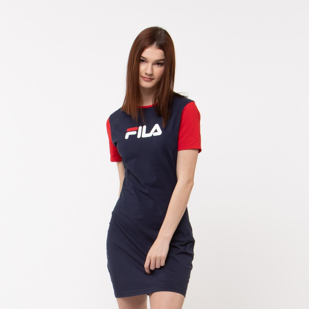 Womens Fila Roslyn Fitted Dress