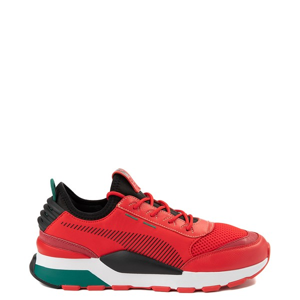 Mens Puma RS-0 Athletic Shoe - Red / Black / Green