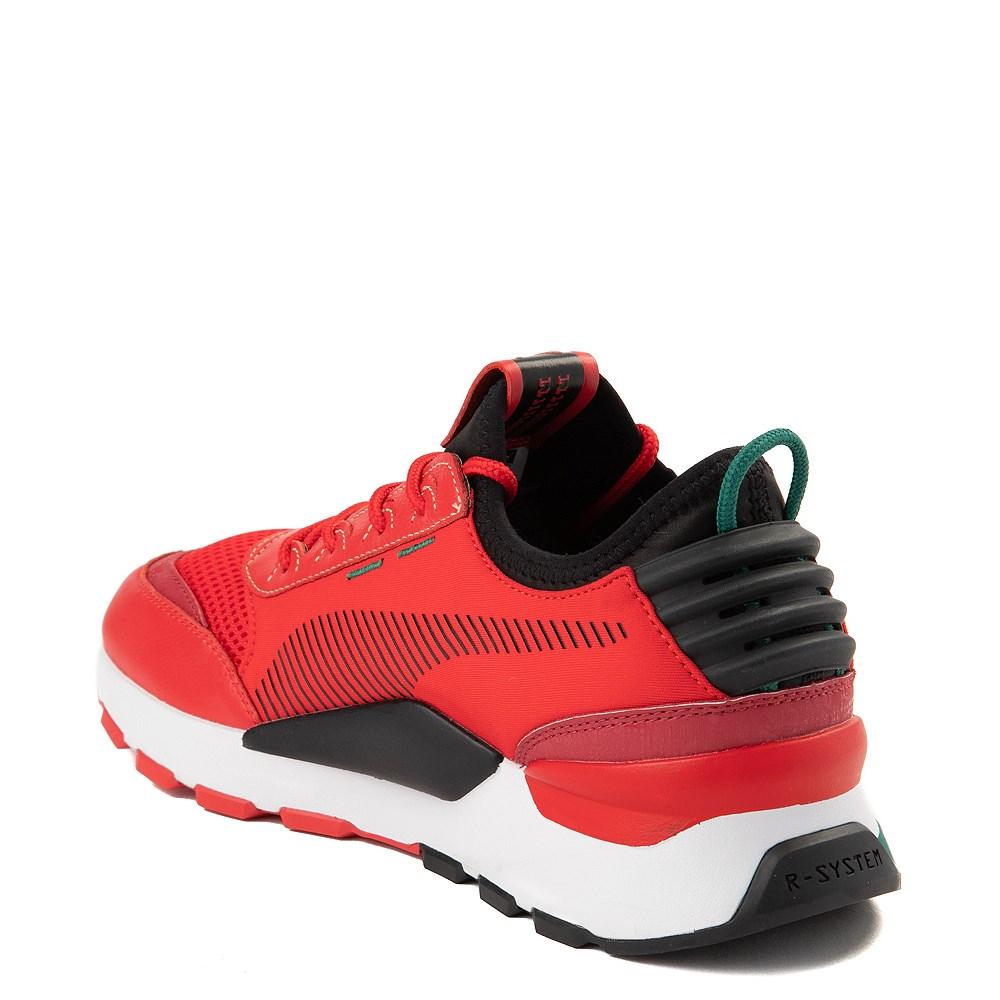 Tomar conciencia Penetración infancia  Mens Puma RS-0 Athletic Shoe - Red / Black / Green   Journeys