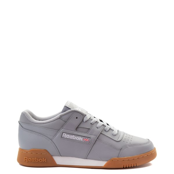 Mens Reebok Workout Plus Athletic Shoe - Gray / Gum