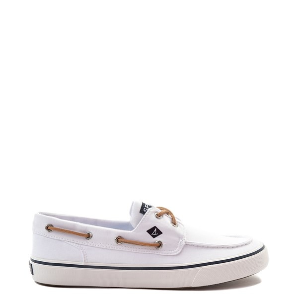Mens Sperry Top-Sider Bahama II Boat Shoe - White