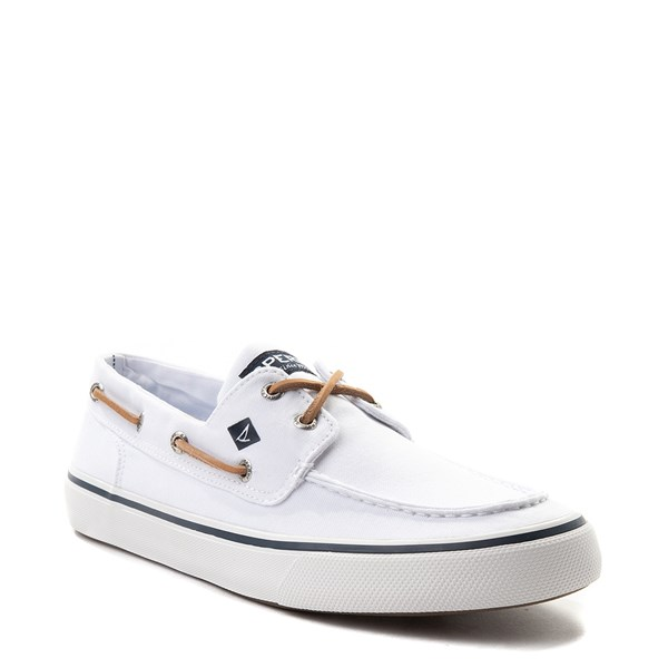 alternate view Mens Sperry Top-Sider Bahama II Boat Shoe - WhiteALT1
