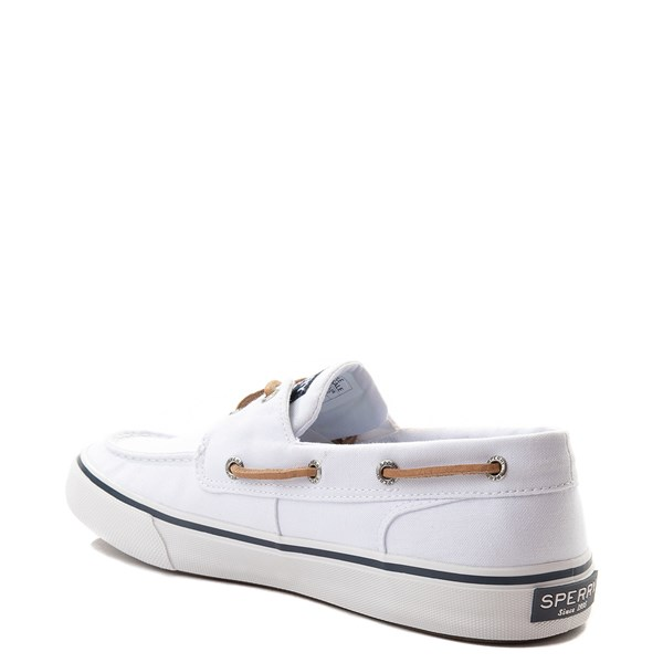 alternate view Mens Sperry Top-Sider Bahama II Boat Shoe - WhiteALT2
