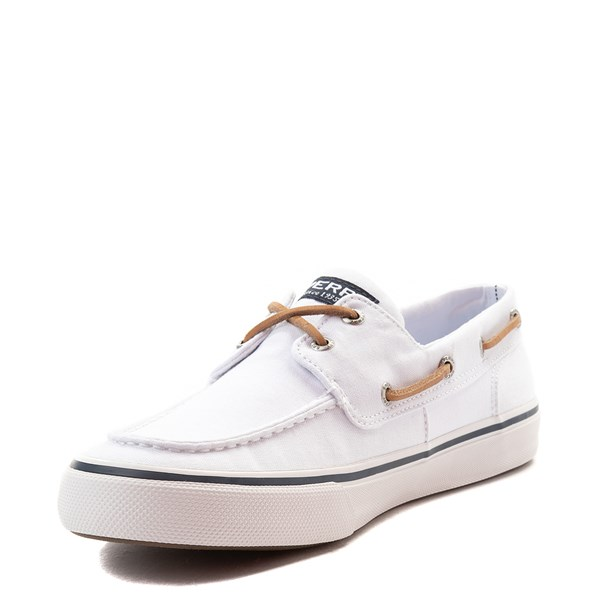 alternate view Mens Sperry Top-Sider Bahama II Boat Shoe - WhiteALT3