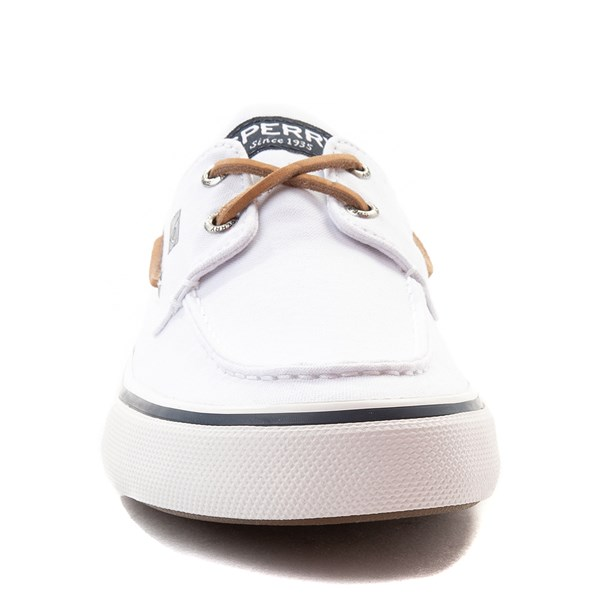 alternate view Mens Sperry Top-Sider Bahama II Boat Shoe - WhiteALT4