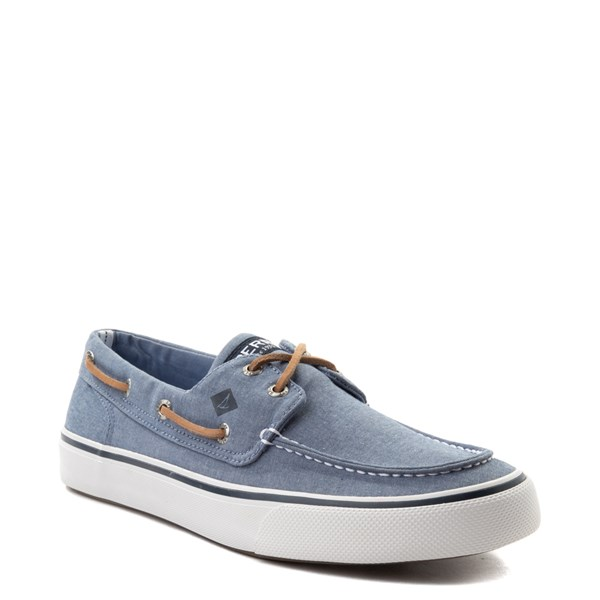 alternate view Mens Sperry Top-Sider Bahama II Boat Shoe - BlueALT1
