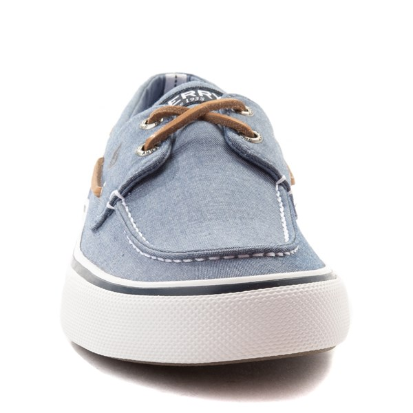 alternate view Mens Sperry Top-Sider Bahama II Boat Shoe - BlueALT4