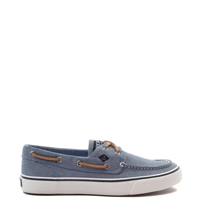 Main view of Mens Sperry Top-Sider Bahama II Boat Shoe - Blue