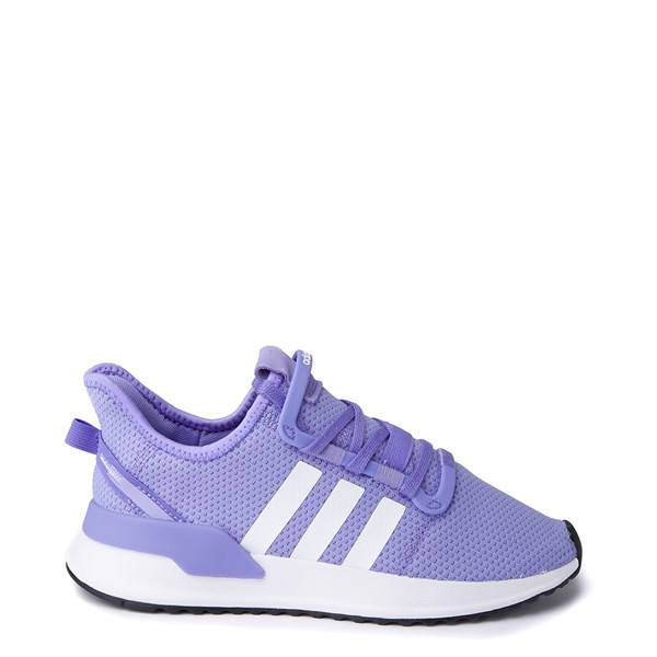 Womens adidas U_Path Run Athletic Shoe - Purple / White