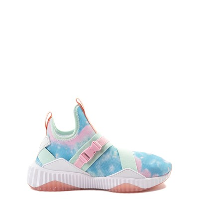 Main view of Puma Defy Mid Tie Dye Athletic Shoe - Big Kid