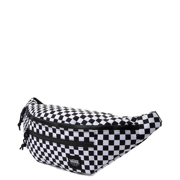 alternate view Vans Ranger Checkerboard Waist Pack - Black / WhiteALT2