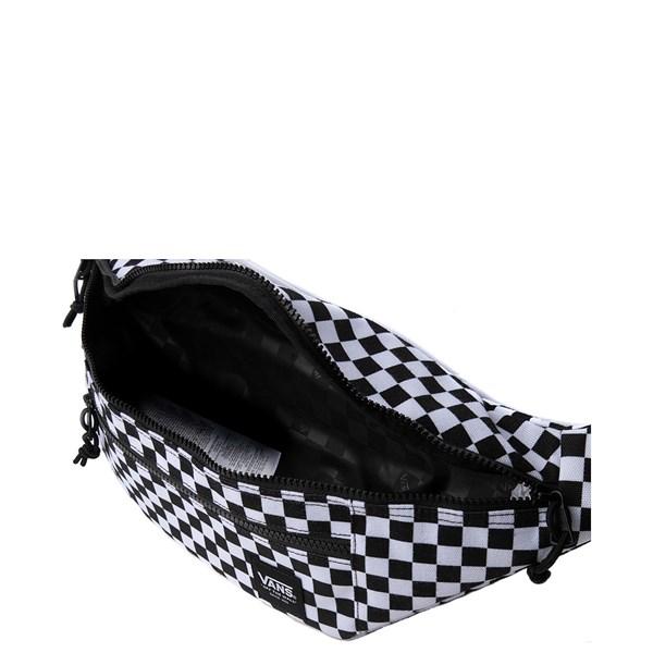 alternate view Vans Ranger Checkerboard Waist Pack - Black / WhiteALT3