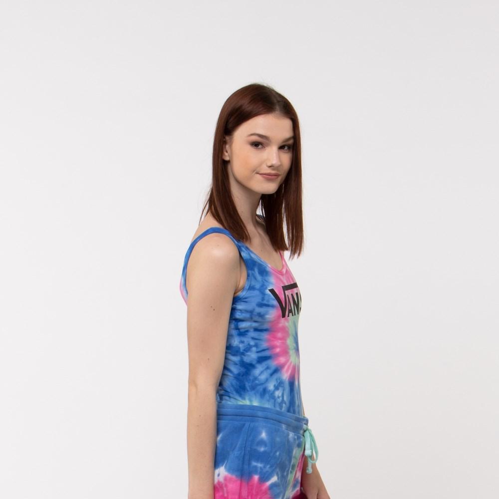 8e7fb1cd Womens Vans Tie Dye Bodysuit