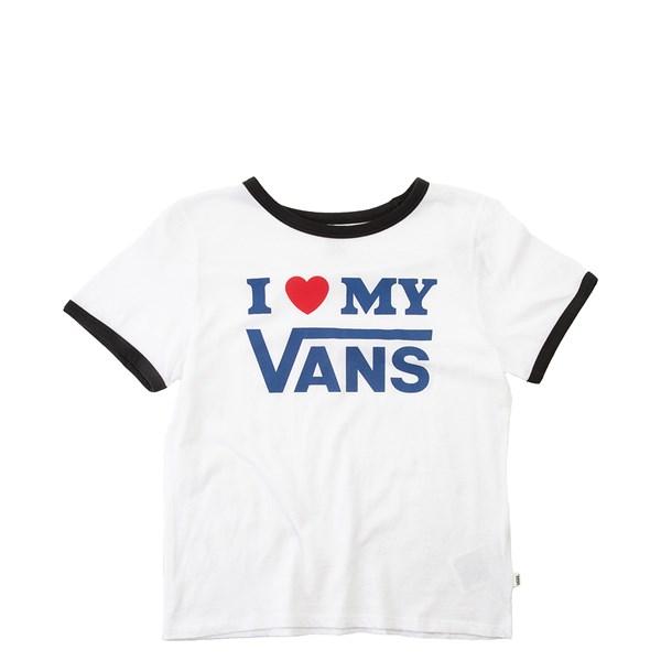 Womens Vans I Heart My Vans Ringer Tee