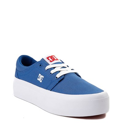 Alternate view of Womens DC Trase TX SE Platform Skate Shoe