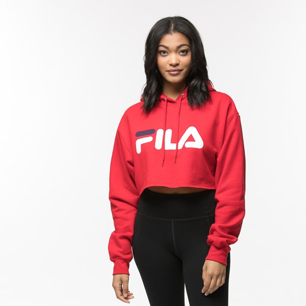 Default view of Womens Fila Cropped Hoodie