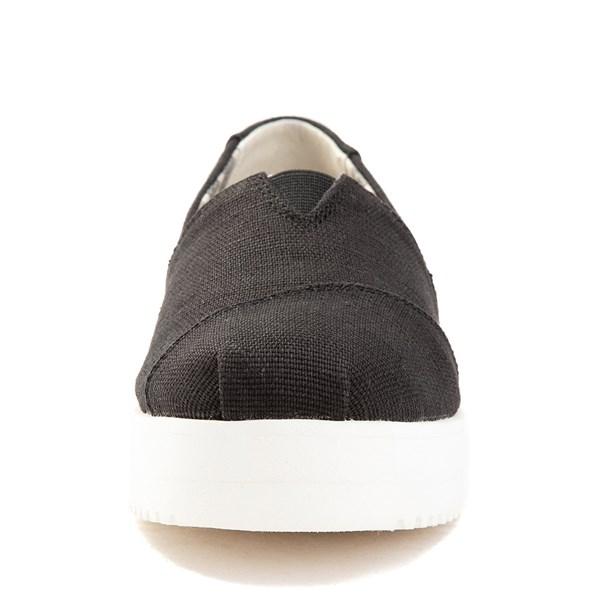alternate view Womens TOMS Classic Slip On Platform Casual ShoeALT4