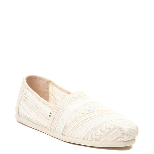 alternate view Womens TOMS Classic Lace Slip On Casual ShoeALT1