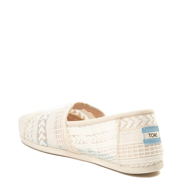 alternate view Womens TOMS Classic Lace Slip On Casual ShoeALT2