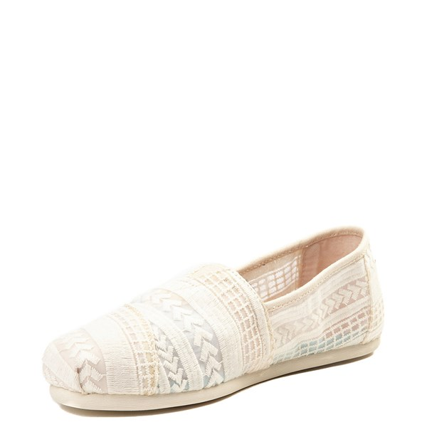 alternate view Womens TOMS Classic Lace Slip On Casual ShoeALT3