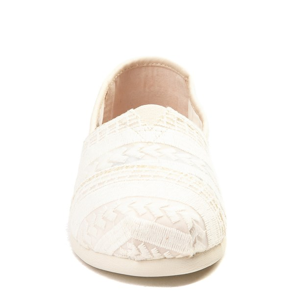 alternate view Womens TOMS Classic Lace Slip On Casual ShoeALT4