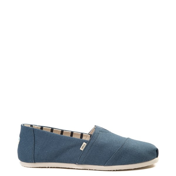 Mens TOMS Classic Slip On Casual Shoe - Mallard Blue