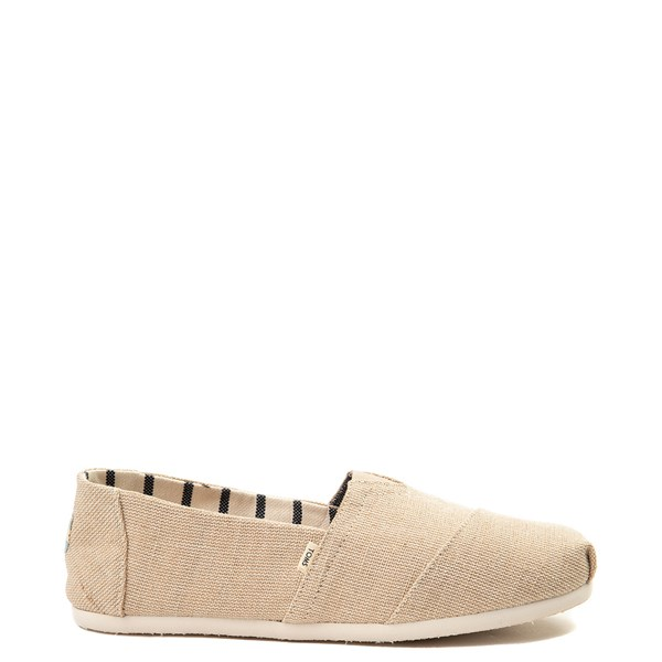 Mens TOMS Classic Slip On Casual Shoe - Khaki
