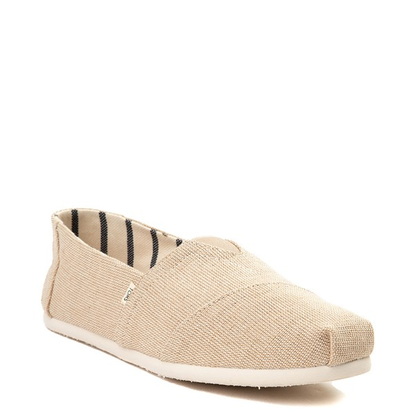 alternate view Mens TOMS Classic Slip On Casual Shoe - KhakiALT1