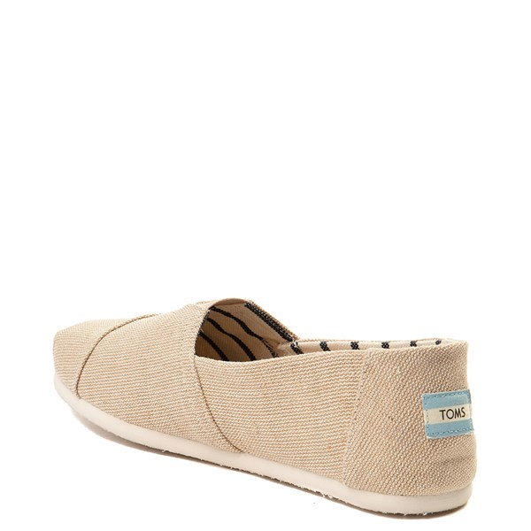 alternate view Mens TOMS Classic Slip On Casual Shoe - KhakiALT2