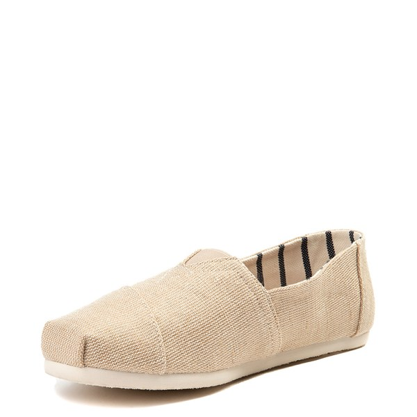 alternate view Mens TOMS Classic Slip On Casual Shoe - KhakiALT3
