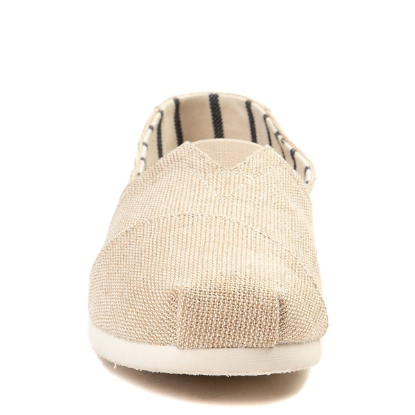 alternate view Mens TOMS Classic Slip On Casual Shoe - KhakiALT4
