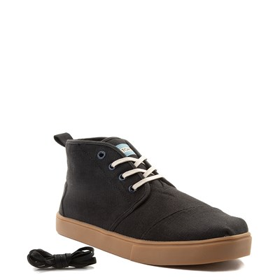 Alternate view of Mens TOMS Botas Chukka Boot - Black